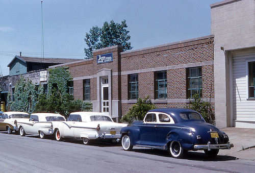 Testek's 1960 building